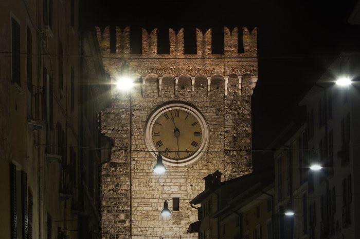 Dettaglio Torre della Pallata – Brescia